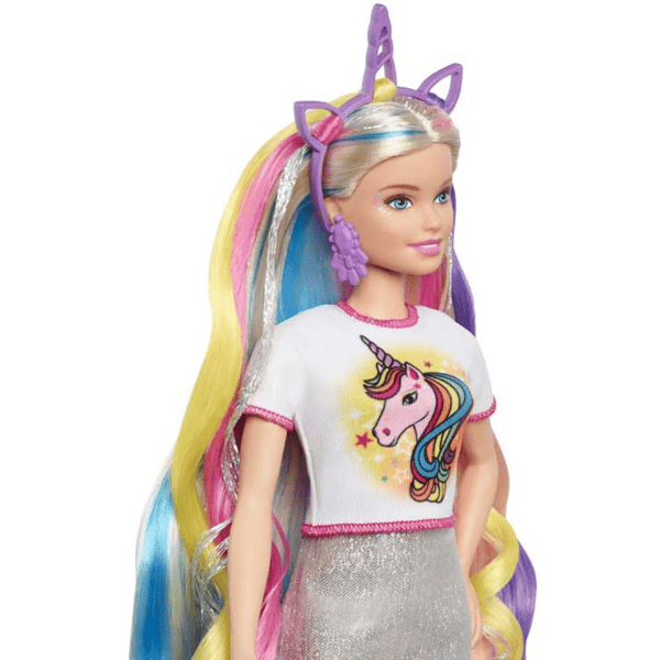 Barbie Fantasi dockset – docka med tillbehor
