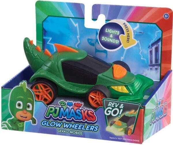PJ Masks Glow Wheelers Gekko Mobile