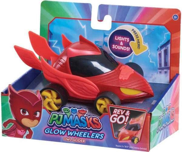 PJ Masks Glow Wheelers Owl Glider