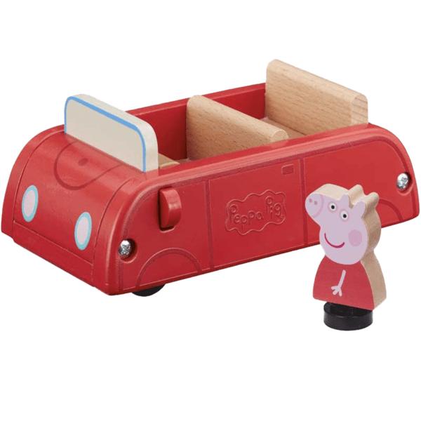 Peppa Pig – Leksaksbil i Tra