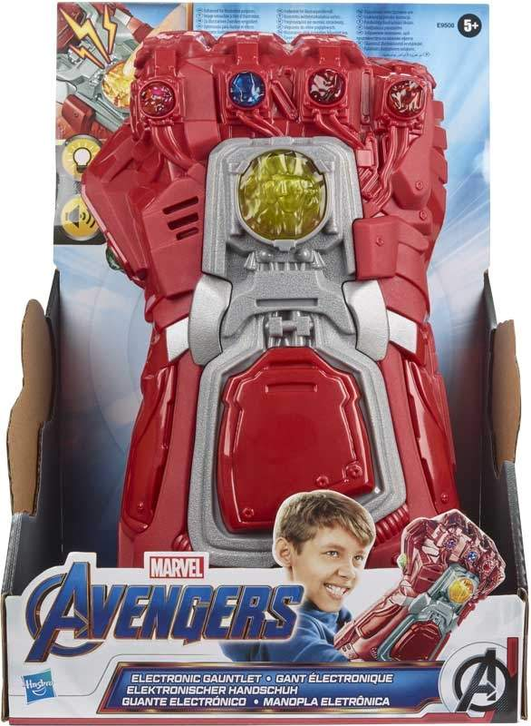 avengers red electronic gauntlet wholesale 44731