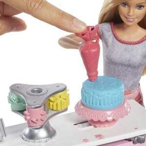 barbie cake bakery playset with baker doll wholesale 33641