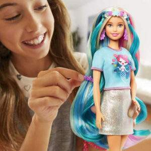 barbie fantasy hair doll wholesale 53515