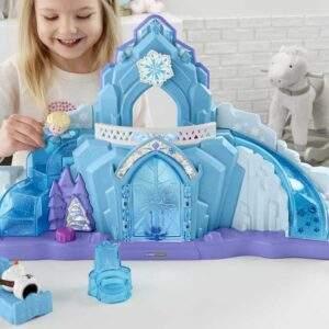 disney frozen elsas ice palace by little people wholesale 43099