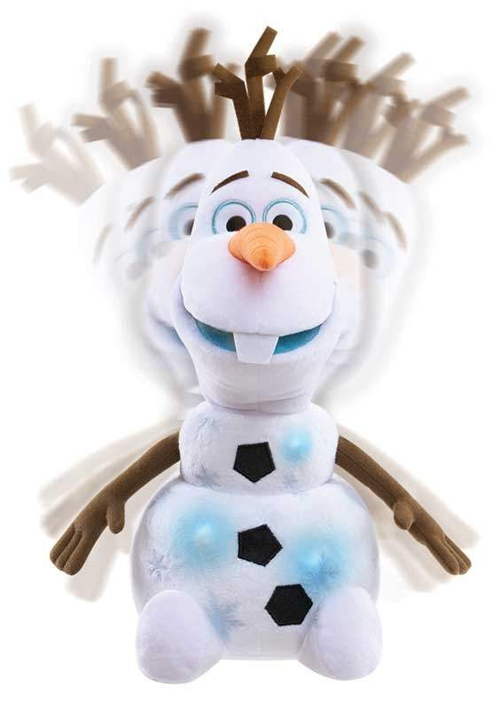 frozen 2 sing and swing olaf plush wholesale 43535