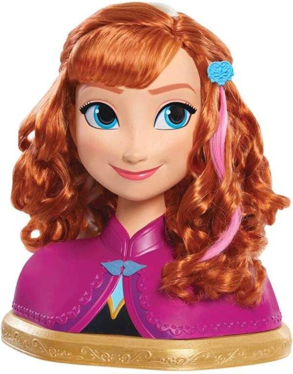 frozen deluxe anna styling head wholesale 43511