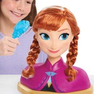 frozen deluxe anna styling head wholesale 43513