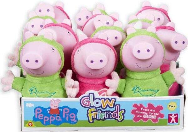 glow friends peppa pig and friends wholesale 30109