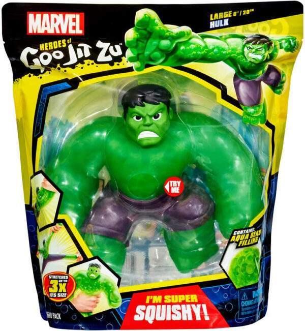 heroes of goo jit zu marvel supergoo hulk wholesale 53315