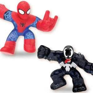 heroes of goo jit zu marvel versus pack spiderman vs venom wholesale 53425