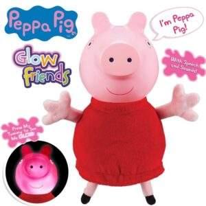 peppa pig glow friends talking glow peppa pig wholesale 30691