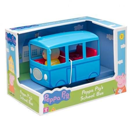peppa pig school bus