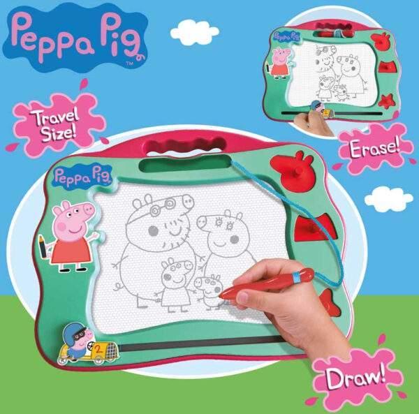 peppa pig travel magnetic scribbler wholesale 54775