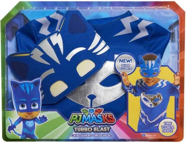 pj masks turbo blast costume set catboy wholesale 54597