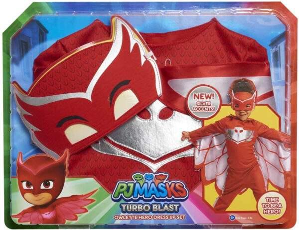 pj masks turbo blast costume set owlette wholesale 54603