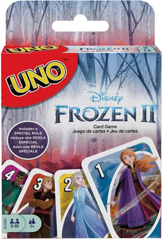 uno disney frozen 2 wholesale 48175