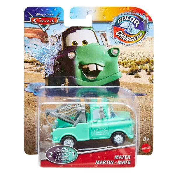 Cars Colour changers Mater Martin Mate